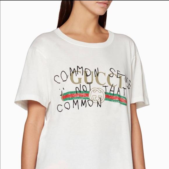 53d224859d1 Gucci White Coco Capitan Logo T-Shirt